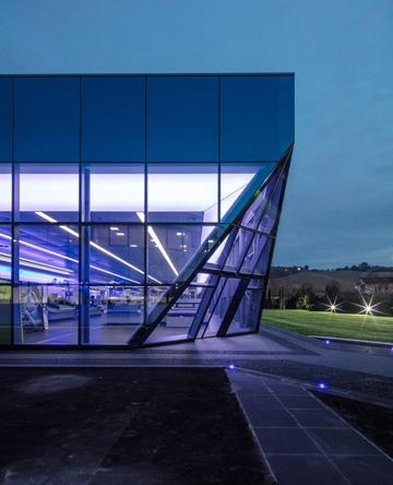 Teseo Tech Theatre architecture