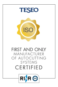 ISO certifications badge Teseo